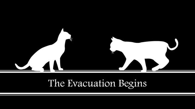 The Evacuation Begins